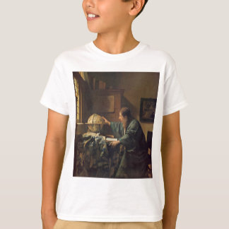 The Astronomer by Johannes Vermeer T-Shirt