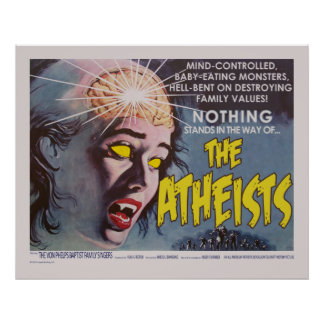 The Atheists Spoof Movie Poster