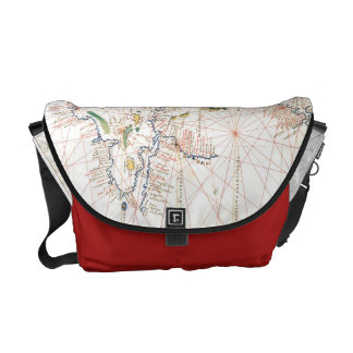 The Atlantic Chart Courier Bag