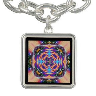 The Atomic Pattern For Life Mandala Charm Bracelets