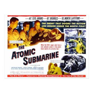 """The Atomic Submarine"" Postcard"