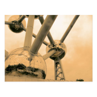 The Atomium Brussels Postcard