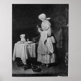 The Attentive Nurse, c.1738 Poster