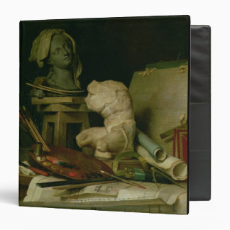 The Attributes of the Arts, 1769 (oil on canvas) 3 Ring Binders