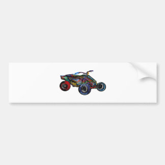 THE ATV EDGE BUMPER STICKER