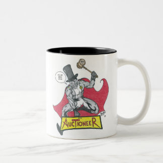 The Auctioneer Two-Tone Coffee Mug