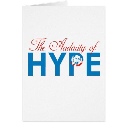 THE AUDACITY OF HYPE CARD