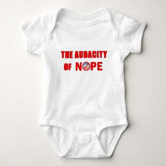 The Audacity of NOPE Baby Bodysuit