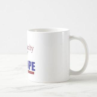 The Audacity of NOPE! Classic White Coffee Mug