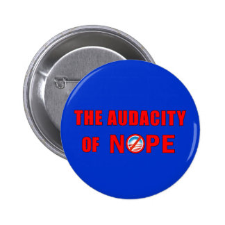 The Audacity of NOPE Pins