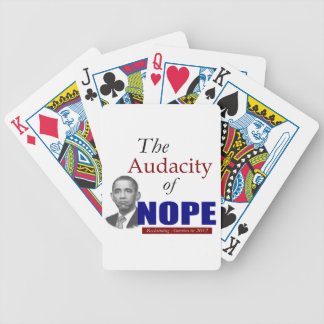 The Audacity of NOPE! Playing Cards