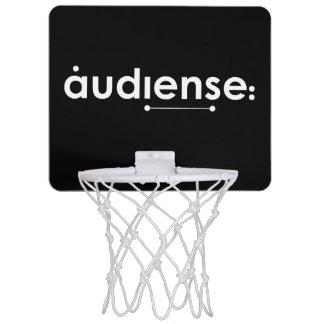 the audiense way! mini basket hoop