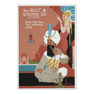 The Ault & Wiborg Co. No. 5 Poster