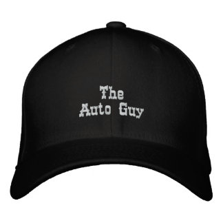 The Auto Guy Embroidered Baseball Caps