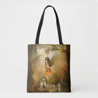 The Autumn Fairy All-Over-Print Tote Bag