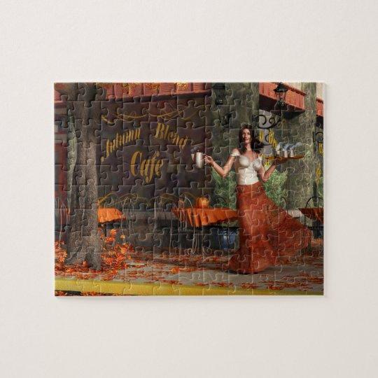 The Autumn Roast Cafe Jigsaw Puzzle