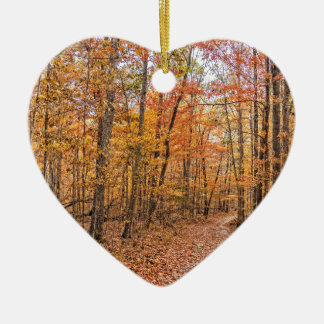 The Autumn Trail Ceramic Ornament