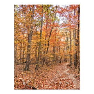 The Autumn Trail Letterhead