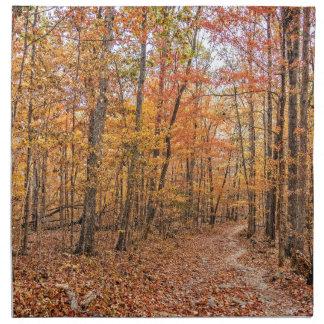The Autumn Trail Napkin