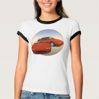 The Avenue Art Red Sports Car T-Shirt