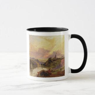 The Avon Gorge at Sunset (oil on paper) Mug