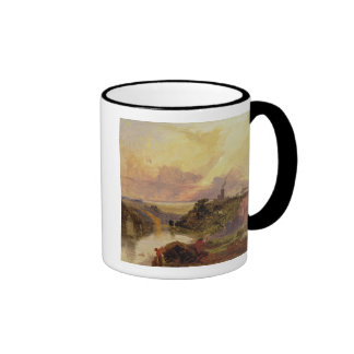 The Avon Gorge at Sunset (oil on paper) Mugs