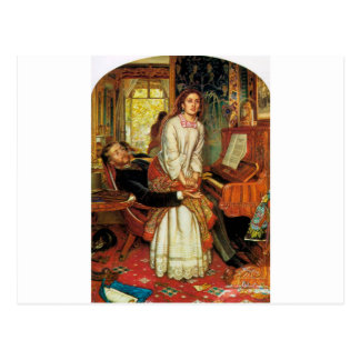 The Awakening Conscience by William Holman Hunt Postcard
