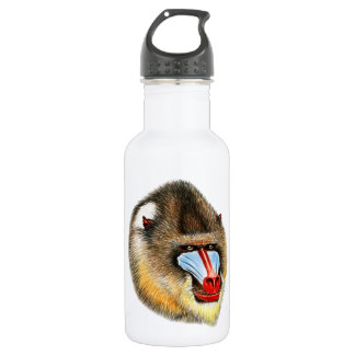 THE AWESOME MANDRILL 532 ML WATER BOTTLE