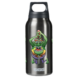 The Awkwardness of the Sword Swallower Insulated Water Bottle