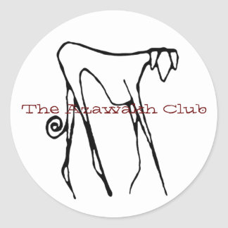 The Azawakh Club Sticker