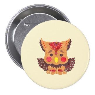 The Baby Griffin 3 Inch Round Button