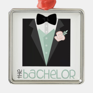 The Bachelor Metal Ornament