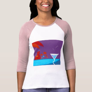 The bachelorette party Edition with palms T-Shirt