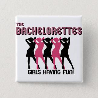 The Bachelorettes 2 Inch Square Button