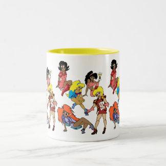 """The Bachelorettes"" Two-Tone Mug"