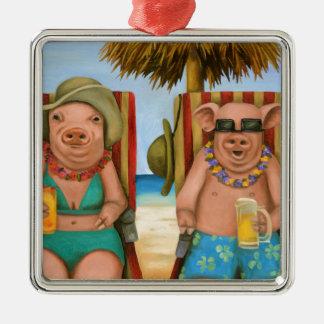 The Bacon Shortage 2 Metal Ornament