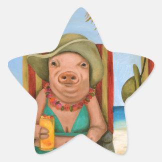 The Bacon Shortage 2 Star Sticker