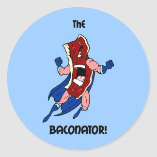 the baconator stickers