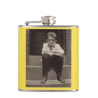 the bad attitude hip flask