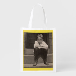 the bad attitude reusable grocery bag