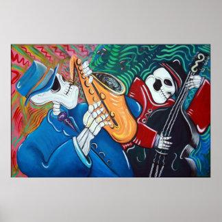 The Bad Blues Bone Band Poster