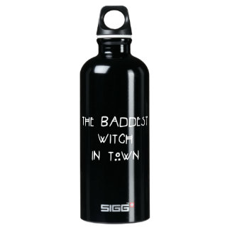 The Baddest Witch in Town Water Bottle
