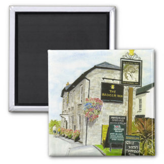 'The Badger Inn' Magnet
