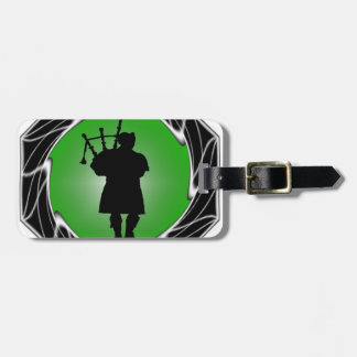 THE BAGPIPERS CREED LUGGAGE TAG