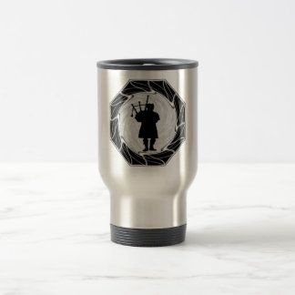 THE BAGPIPES SOMBER TRAVEL MUG