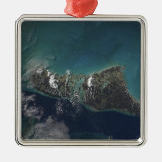 The Bahamas' Andros Island Metal Ornament