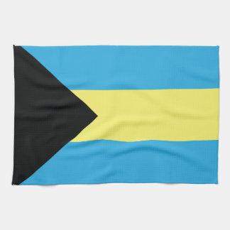 The Bahamas Flag Kitchen Towel