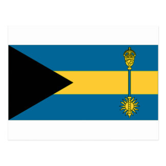 The Bahamas Prime Minister Flag Postcard