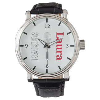 The Baker Personalized Wristwatch
