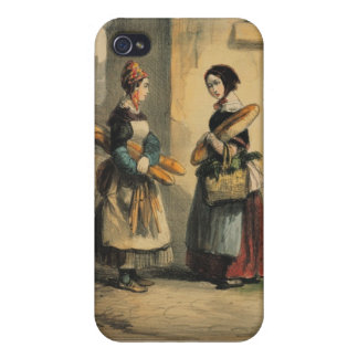 The Baker's Art, plate number 27 iPhone 4 Covers